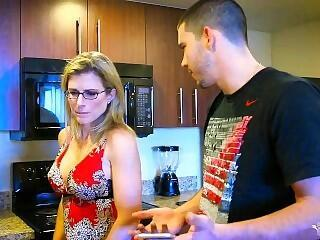 FAKE Mom blackmailed by son