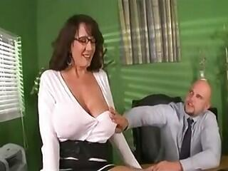 Hot Older Busty Cougar Banging Hard